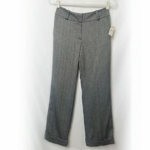Talbot | Cuff Slacks Dark Navy Color Career Pant